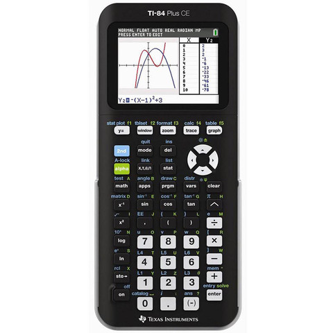 Texas-Instruments-T-Graphic-Calculator-Ti-84-Plus-Ce