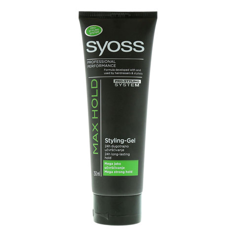 Syoss-Max-Hold-Styling-Gel-250ml