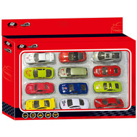 Power Joy Vroom Diecast Promopack 12In1 Assorted