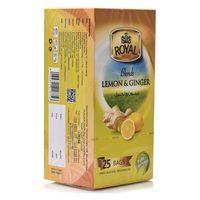 Royal Lemon & Ginger Tea 25 Tea Bags