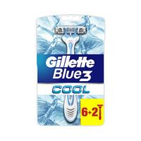 Gillette Blue 3 Cool 6 + 2 Rasors Free