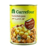 Carrefour Foul Medammas With Chick Peas 400g