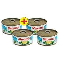 ماكسيم تونة في بالماء 95 غرام 4 حبات