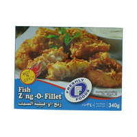 Freshly Foods Fish Zing -o- Fillet 340g