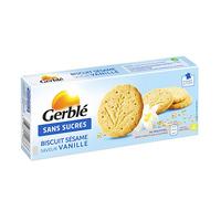 Gerble Biscuit Sesame Vanille Sans Sucre 132GR