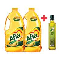 Afia Corn Oil 1.8Lx2 + Afia Olive Oil 250ml