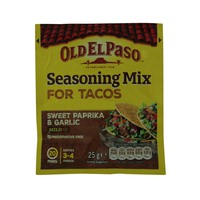 Old El Paso Seasoning Mix For Tacos 24g
