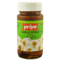 Priya Garlic Pickle In Oil 300g