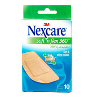Nexcare Soft N' Flex 360° 10 Bandages