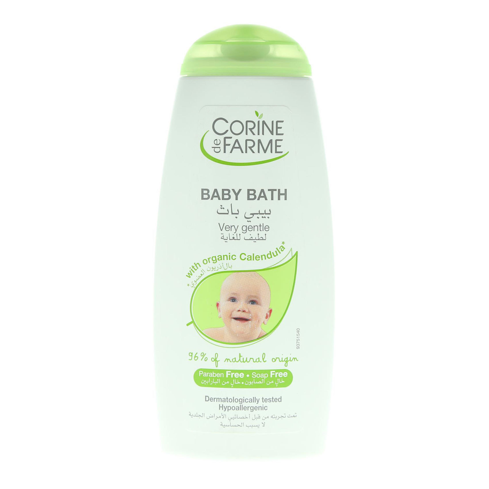 CORINE DE FARME BABY BATH 250ML