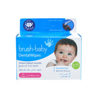 Brush-Baby's Dental Wipes Wipes (28 finger shaped wipes)