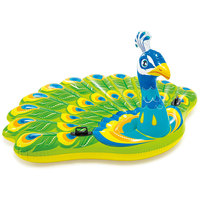 ntex Peacock Inflatable Island Randomly Assorted