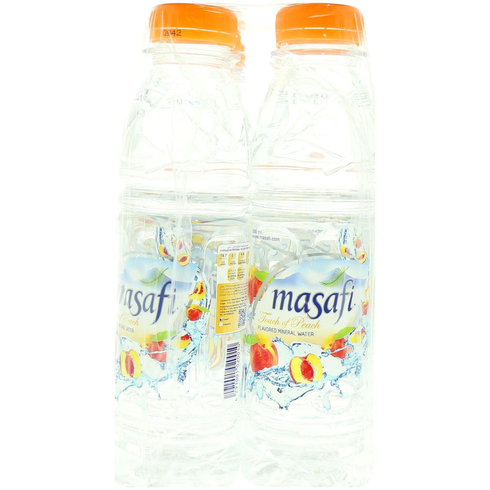 MASAFI WATER PEACH 500MLX6