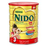 Nestlé Nido FortiProtect One Plus (1-3 Years Old) Growing Up Milk Tin 900 g