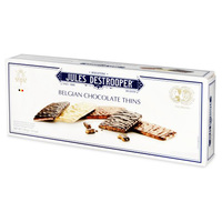 Jules Destrooper Belgian Chocolate Thins Biscuit 100g