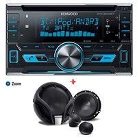 Kenwood Car DVD DPX 5000BT+KFC-M604P Speaker