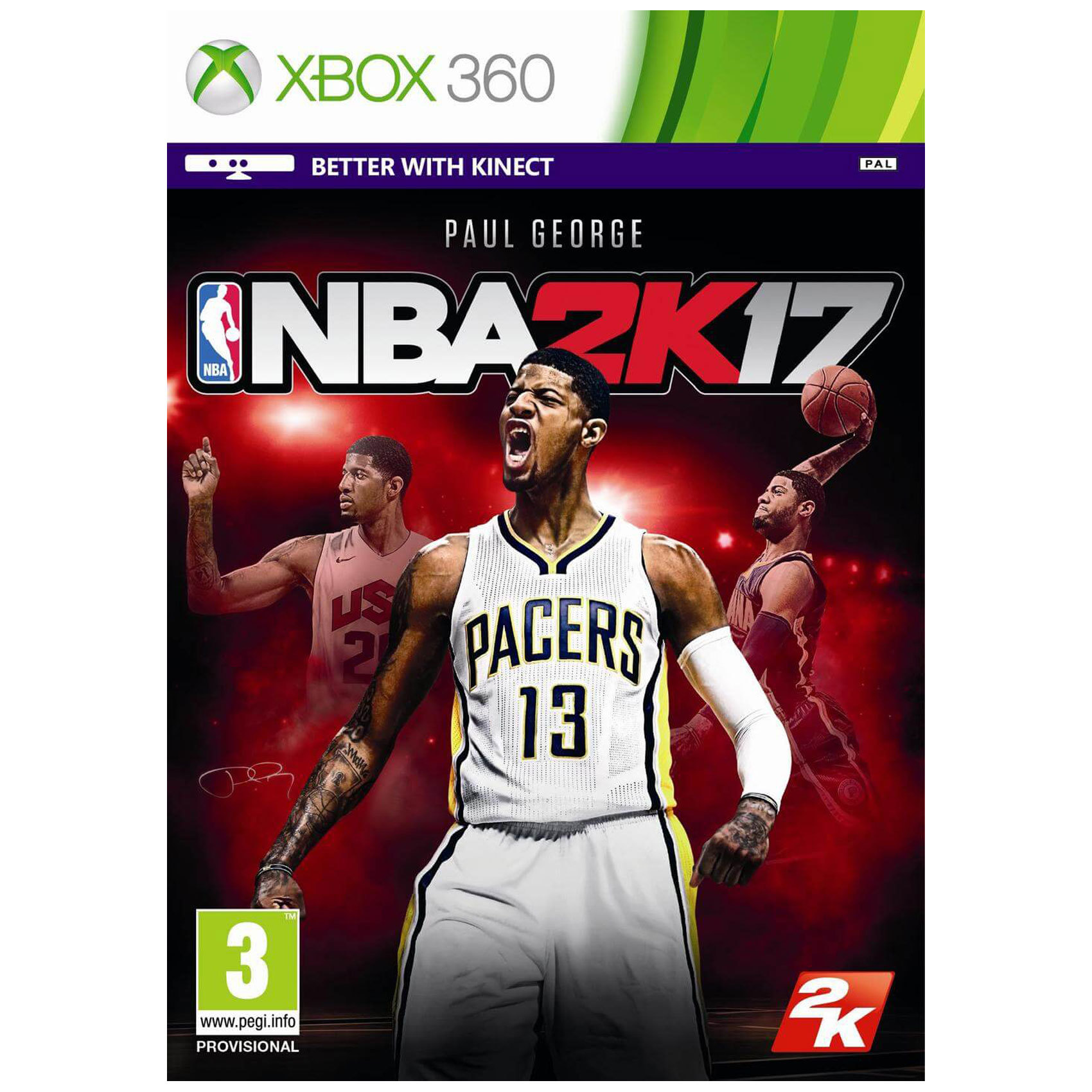 MICROSOFT X360 NBA 2K17