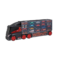 Teamsterz Large Car Transporter With 10 Cars