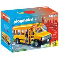 Playmobil - School Bus Vehicle Playset