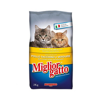 Miglior Gatto Kibbles With Chicken And Turkey 2KG