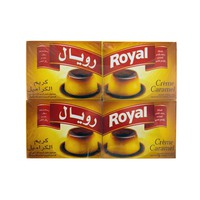 Royal Crème Caramel Dessert Powder Caramel Topping 77g x12