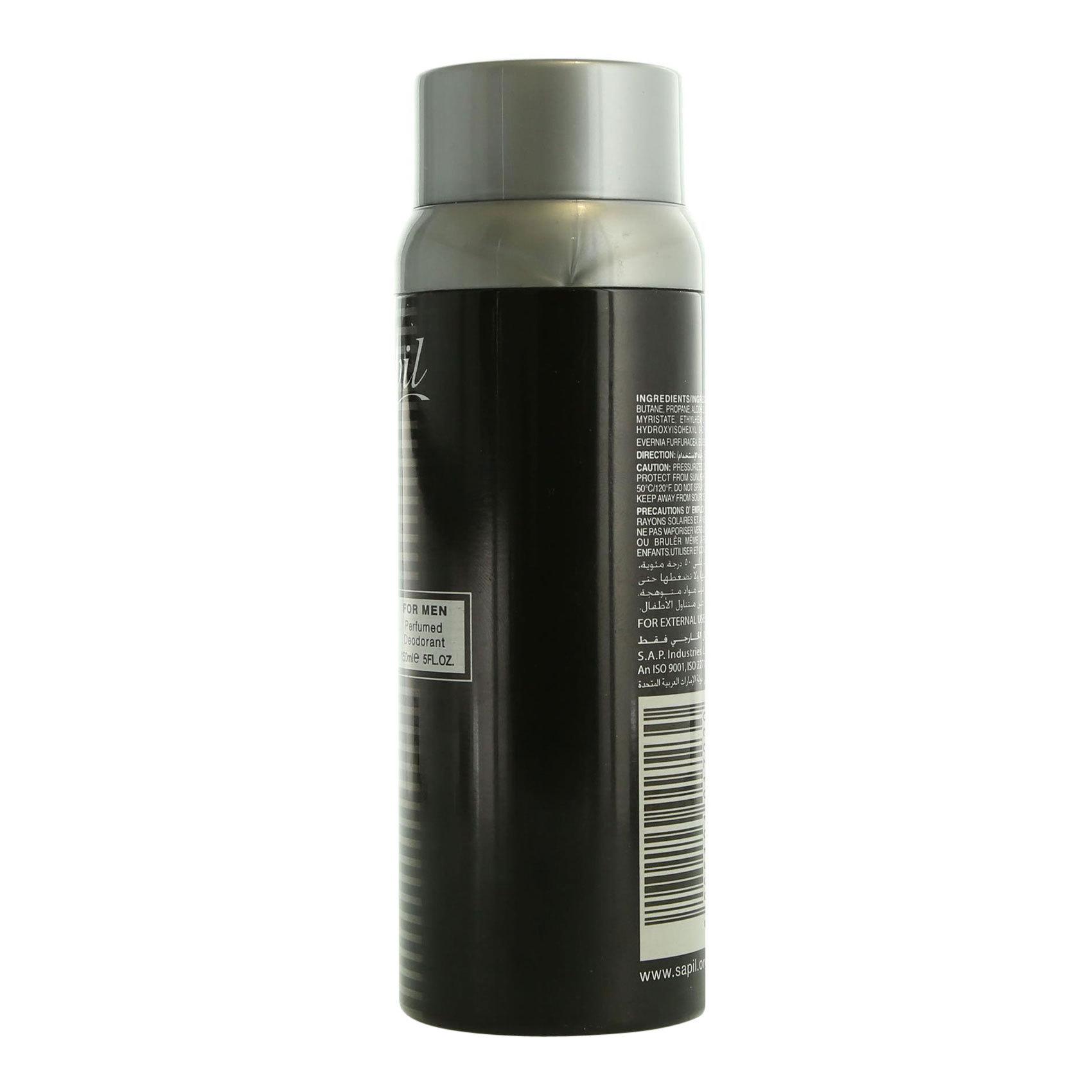 SAPIL NICE FEELINGS BLACK (M) 150ML