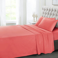 Tendance's Fitted Sheet Double Coral 137X193