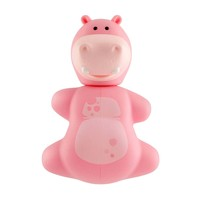 Flipper - Fun Animal Hippo Toothbrush Holder - Flr-Fa-Hpo