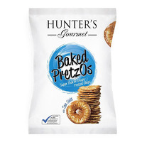 Hunter's Gourmet Baked Pretzos Sea Salt 180g