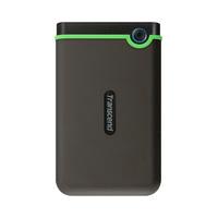 Transcend Hard Disk Storejet M3S 1 Tera Portable Grey And Green