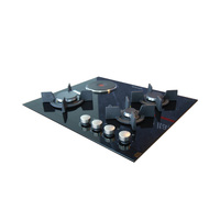 Bompani Built-In Hob BO237VA/L 60CM Full Safety Black