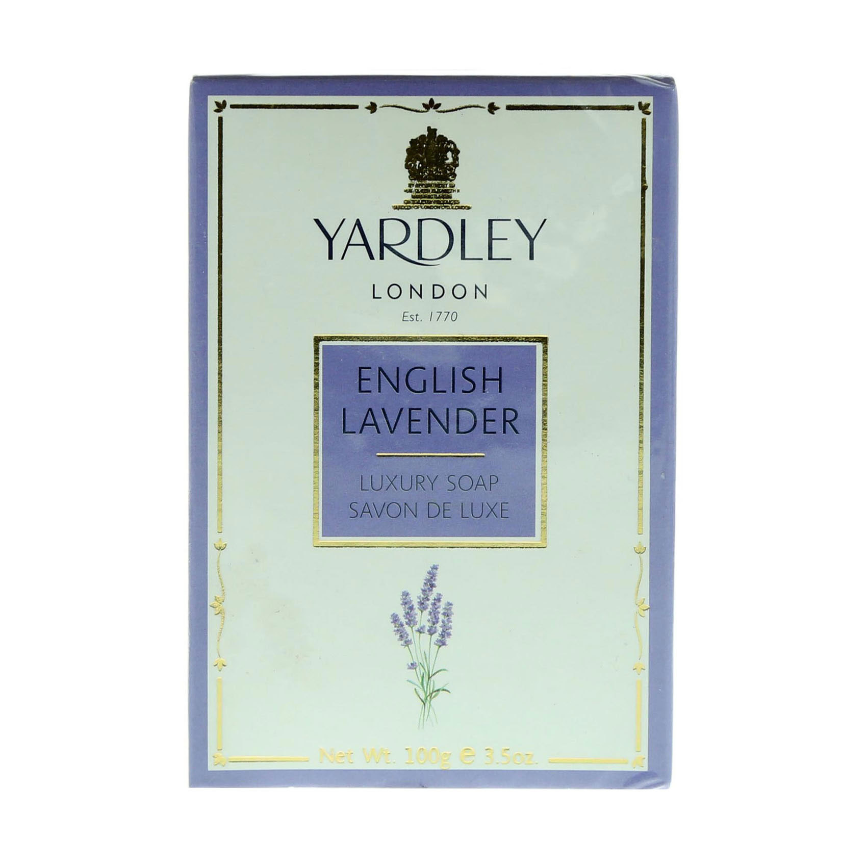 YARDLEY SOAP LAVENDER 100GM