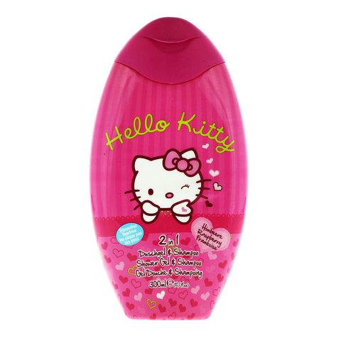 Hello-Kitty-Raspberry-2In1-Shower-Gel-&-Shampoo-300ml
