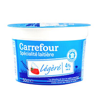 Carrefour Fresh Sour Cream Light 4% 50cl