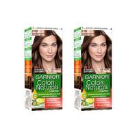 Garnier Color Hair Nude Medium Brown No.5.132 2 Pieces