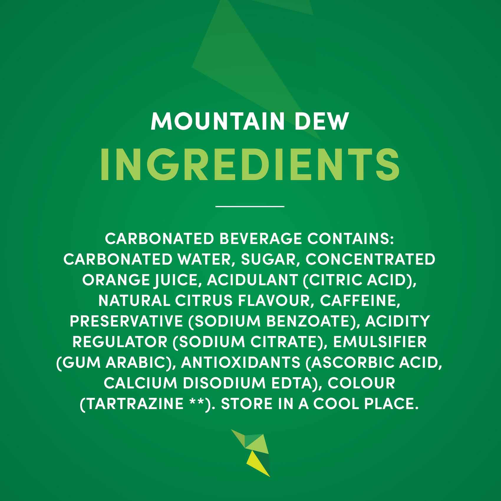 MOUNTAIN DEW 500MLX12