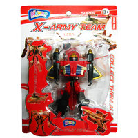 Kidzpro Trans Robot X-Foramry Team 4 Assorted