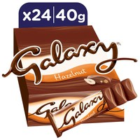 Galaxy® Hazelnut Chocolate Bar 40g x 24