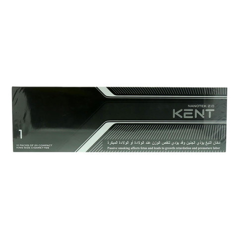 Kent-Nanotek-2.0-200/20-King-Size-Cigarettes(Forbidden-Under-18-Years-Old)