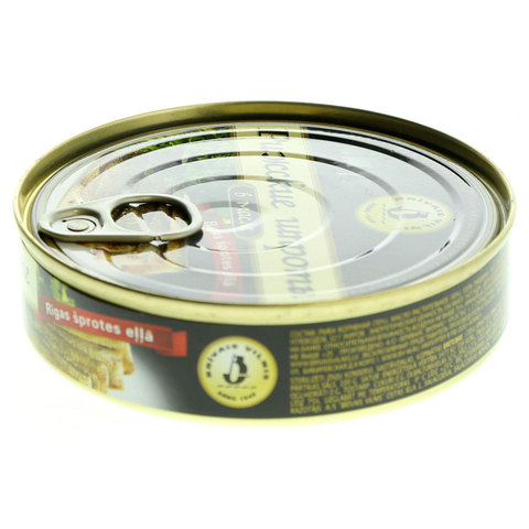 Brivais-Vilnis-Smoked-Riga-Sprats-In-Oil-160g