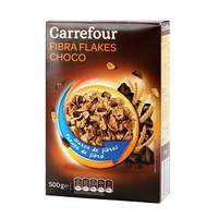 Carrefour Fibre Flakes Black Choco 500 g