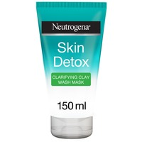 Neutrogena Facial Wash Skin Detox Clarifying Clay Wash Mask 150ml