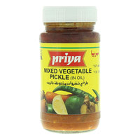 Priya Mixed Vegetable Pickle in Oil 300g