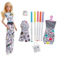 Barbie Crayola Color-in Fashions