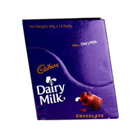 Cadbury Dairy Milk Chocolate 90g X12