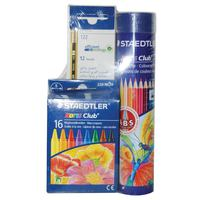 Staedtler 12Color Pencil+ 12 Pencil+16 Crayon