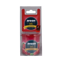 Areon Air Freshener Gel Strawberry 80 Gram
