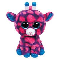 """Ty Beanie Boos Sky Purple/ Pink Giraffe Reg 6"""""""