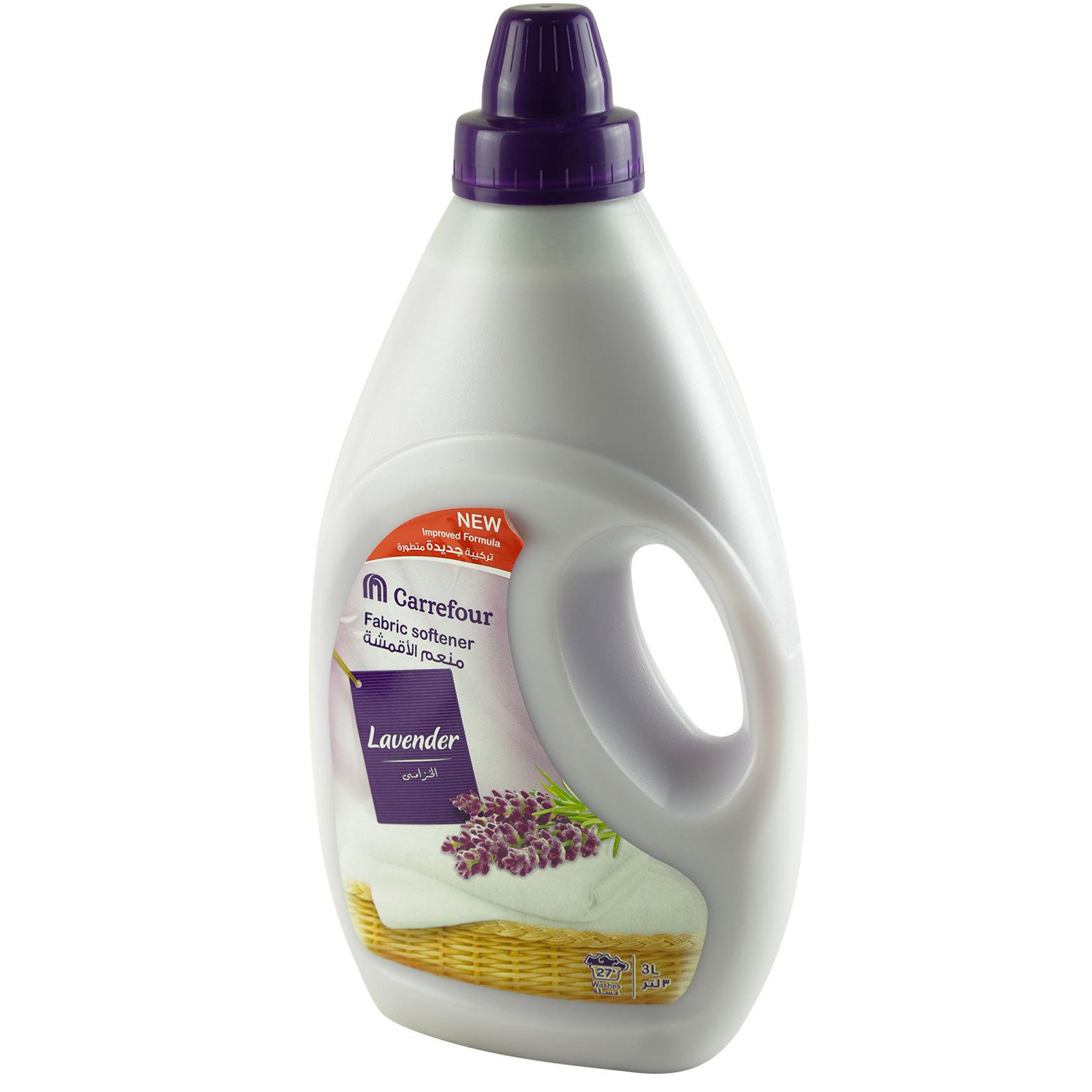 Buy Carrefour Fabric Softener Regular Lavender 3l Online In Uae Vk Foaming Dew Crf Lavendar