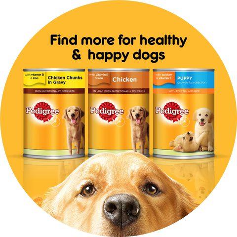Pedigree-Chicken-Chunks-In-Gravy-Dog-Food-400g